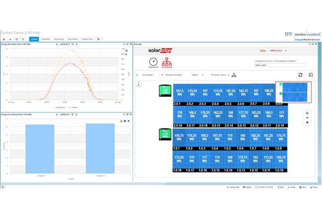 meteocontrol integriert Monitoring-Plattform von SolarEdge in Virtuellen Leitstand (VCOM) / Pressebild