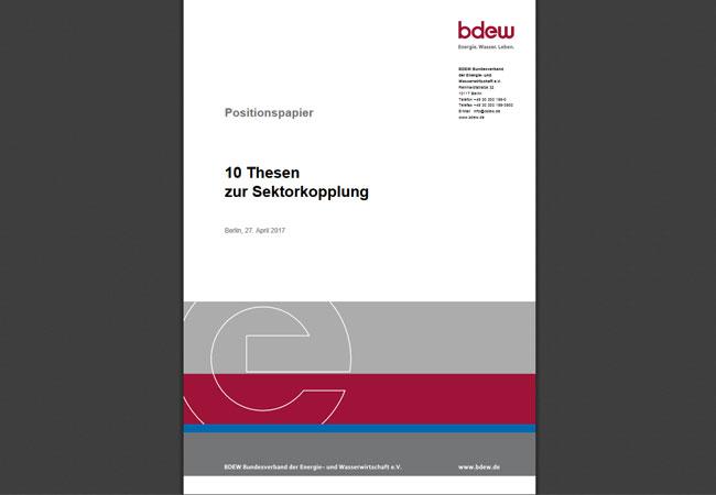 BDEW Positionspapier_10 Thesen zur Sektorkopplung