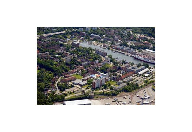 Luftbildaufnahme - Campus der FH Kiel / Foto: Matthias Riedel