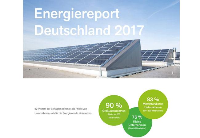 Infografik Energiereport