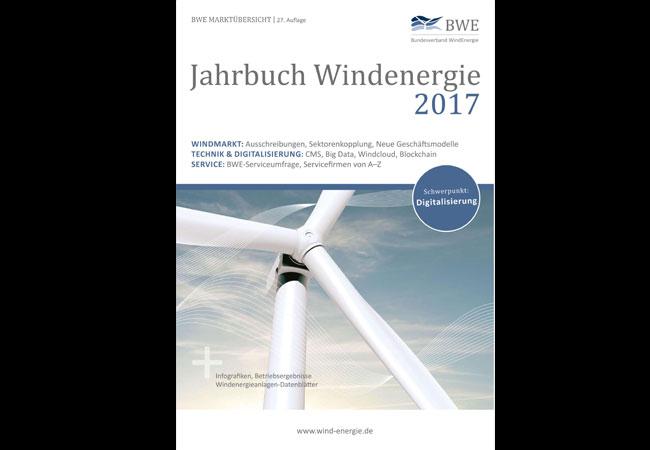 Jahrbuch Windenergie 2017 - BWE Marktübersicht, 27. Auflage