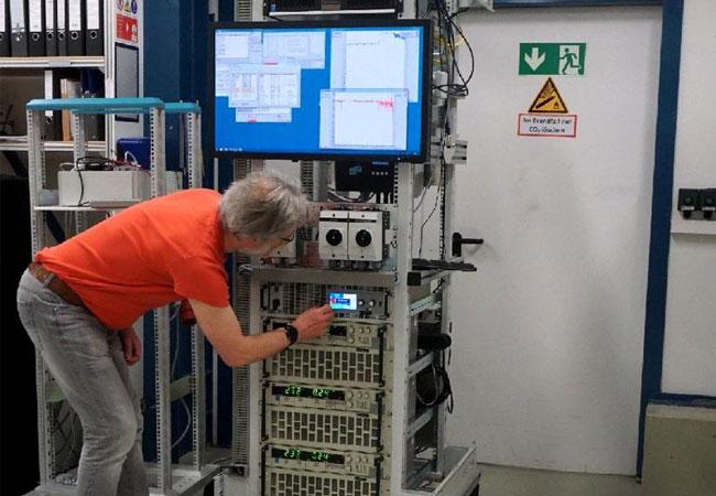 Effizienzvermessung eines Speichersystems Bild: KIT
