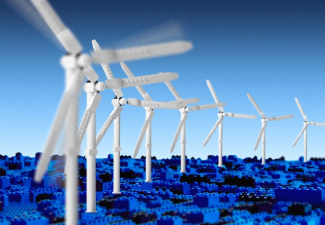 Pressebild: Die LEGO Gruppe erreicht Ziel erneuerbarer Energieversorgung drei Jahre früher als geplant. Quellenangabe: LEGO GmbH
