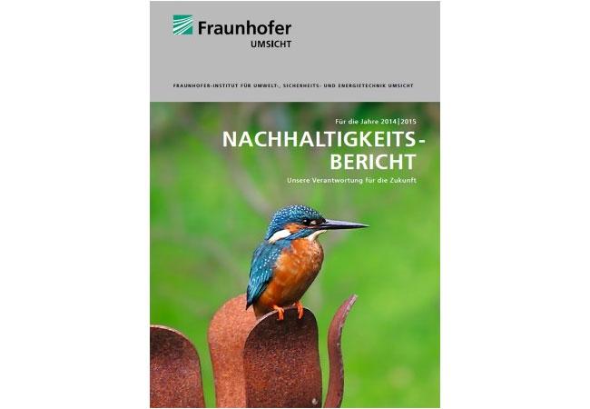 Nachhaltigkeitsbericht erschienen: Position beziehen und Vordenker sein / Pressefoto: © Foto Fraunhofer UMSICHT