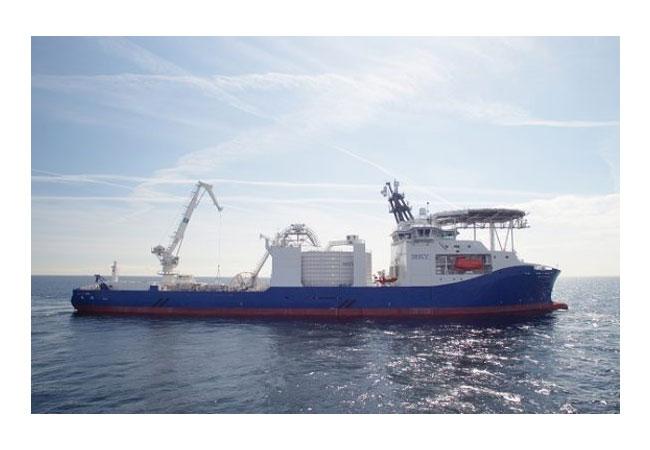 Pressebild: Hochspannungskabel-Verleger NKT Victoria als Sieger des prestigeträchtigen Schiffs des Jahres ausgezeichnet