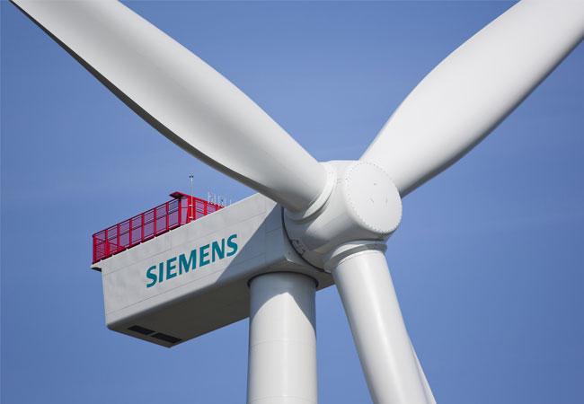 Zehn Siemens Windenergieanlagen vom Typ SWT-4.0-130 werden sauberen Strom für rund 8.600 elektrisch beheizte finnische Haushalte liefern. / Pressebild: Siemens