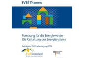 Cover zum FVEE-Tagungsband FVEE