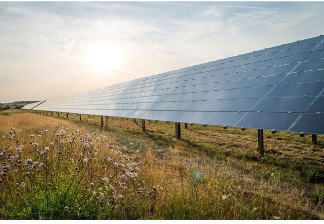 Pressebild: BELECTRIC-Solarkraftwerk