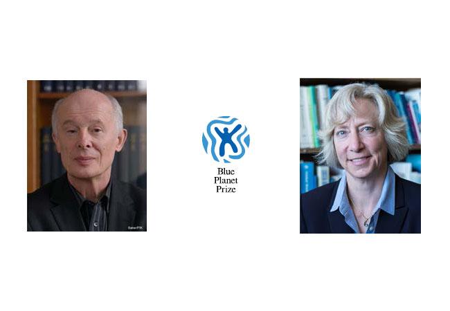 Pressebilder: Prof. Hans J. Schellnhuber - Prof. Gretchen C. Daily