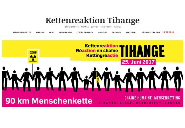 Internetplattform: https://www.chain-reaction-tihange.eu/de/