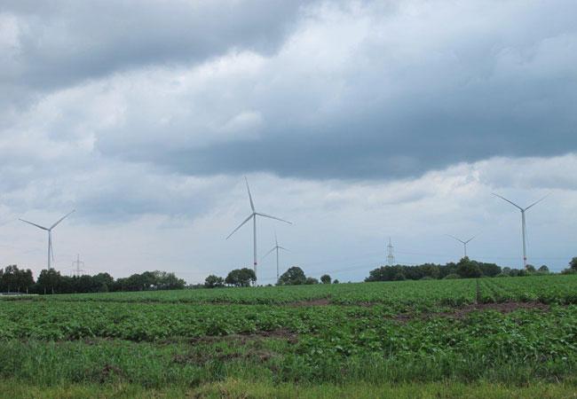 Fotomotiv vom Windpark Beedenbostel / Quelle: deanGruppe