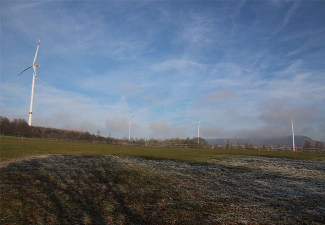 Windpark Lingelbach / Pressebild
