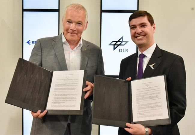 DLR und Embraer vereinbaren Zusammenarbeit in der Luftfahrtforschung