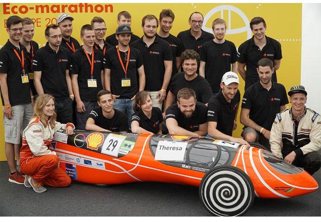 Pressebild: 579,2 Kilometer konnte das Team High Efficiency mit einem Liter Treibstoff zurücklegen Dominik Störkle