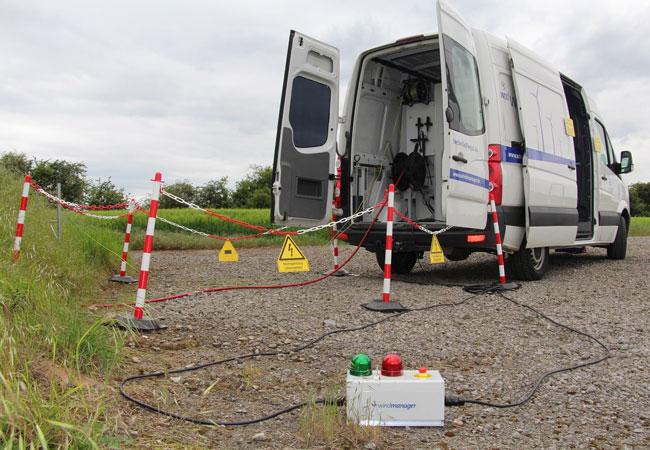 Kabelmesswagen / Pressebild: