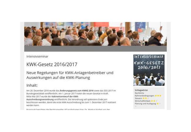 Neue Regelungen für KWK-Anlagenbetreiber und Auswirkungen auf die KWK-Planung / Pressebild