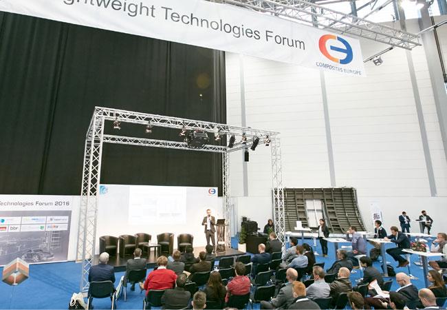 COMPOSITES EUROPE 2017: Lightweight Technologies Forum geht in zweite Runde / Pressebild