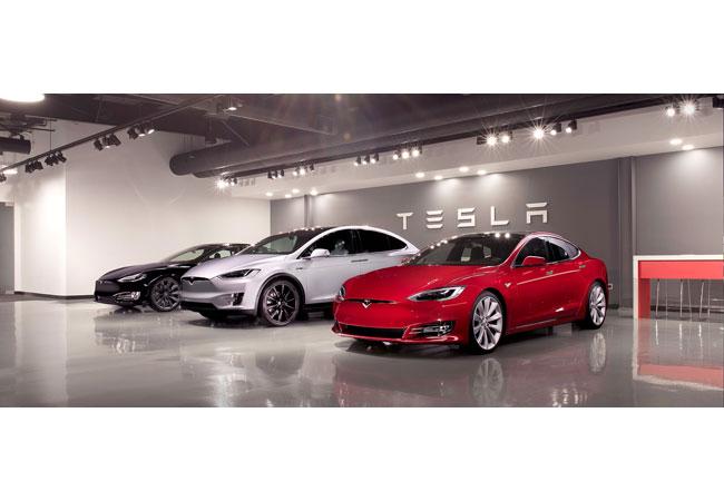 """Pressebild: Tesla gewinnt bei der Wahl """"Firmenauto des Jahres"""""""