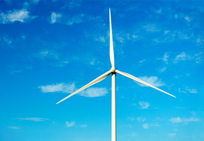 Pressebild: Vestas-Windanlage