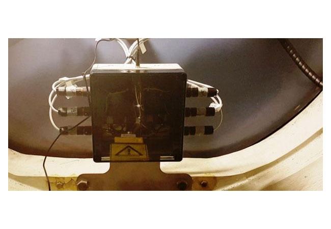 Pressebild: Eingebaute BBG-Box in einer WEA (MM92)