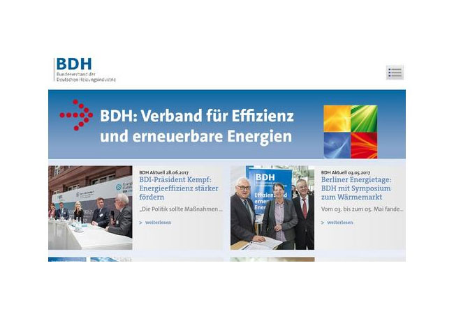 Internetseite: http://www.bdh-koeln.de/