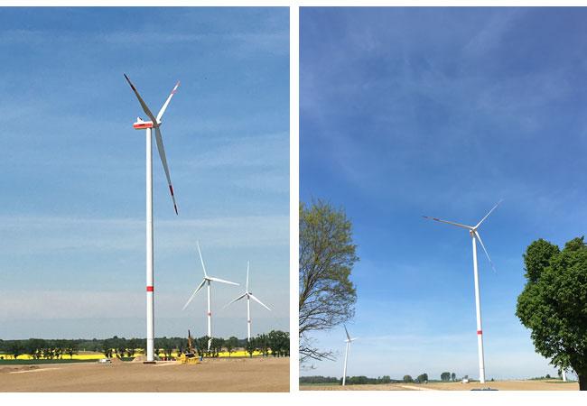 Pressebilder: CEE Group erwirbt weiteren Windpark in Brandenburg von European Energy A/S