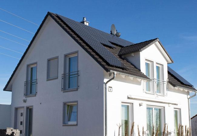 Pressebild: Dachanlage, axchanlage: BayWa r.e. renewable energy GmbH