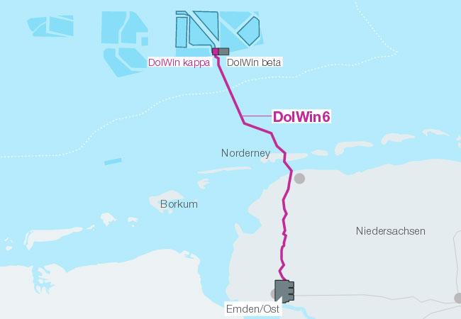 DolWin6 Anbindung / Pressebild: TenneT