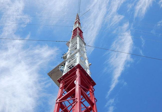 Pressebild: India's-tallest-met-mast-150m-RK-systems-NRG-systems