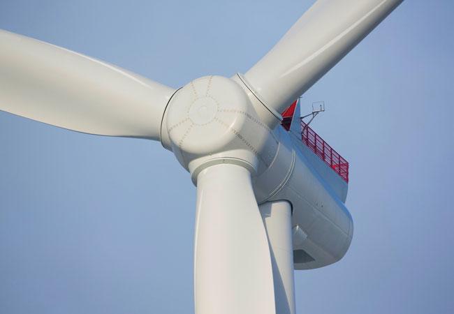 Modernste Direct-Drive-Technologie: Dong Energy hat 94 Anlagen der Siemens Gamesa 8-MW Offshore Windturbine für das Borssele 1 und 2 Projekt in der niederländischen Nordsee bestellt. / Pressebild