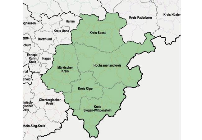 Pressebild: LEE NRW Regionalverband Südwestfalen. Bild: LEE NRW