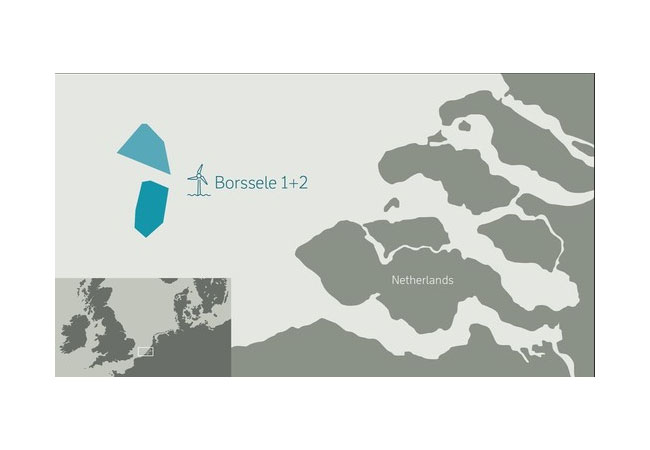 DONG Energy signs agreement with Siemens Gamesa for wind turbines for Borssele 1 and 2 offshore wind farm / Pressebild
