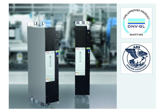 Large Electric Drives von Rexroth für Marineanwendungen zertifiziert / Pressebild