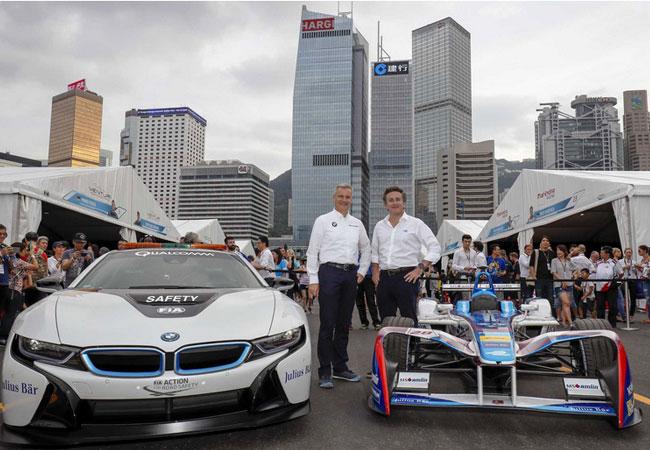Pressebild: BMW Motorsport · Formula E Championship