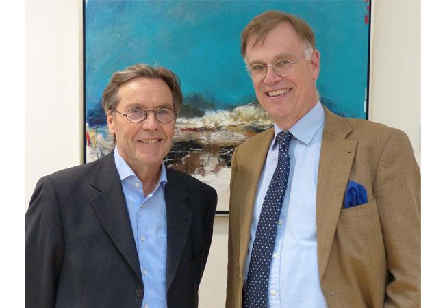 Haben den Vertrag geschlossen: Uwe Thomas Carstensen, Turbowind, und Dr. Jörg Buddenberg, EWE ERNEUERBARE ENERGIEN GmbH / Pressebild
