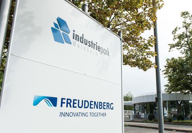Pressebild: Freudenberg Group Headquarters in Weinheim (Gate 1) / Freudenberg Gruppe, Standort Weinheim (Tor 1)