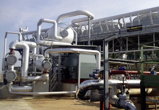 Pressebild: Abbildung 1 Das neue Geothermiekraftwerk in Soultz-sous-Forêts erzeugt eine Strommenge, die rechnerisch für die Versorgung von 3.000 Vier-Personen-Haushalten ausreicht. (© EnBW, Hanna Mergner)