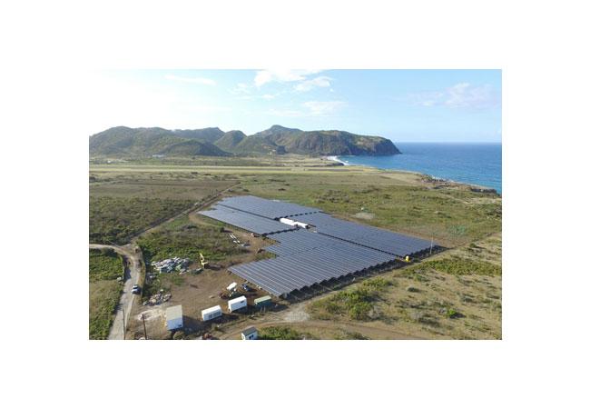 Insel-Energieversorger Stuco plant Erweiterung der Anlage und Ausschalten der Diesel-Generatoren / Pressebild