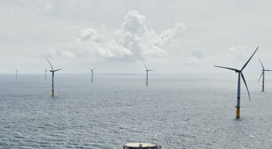 Mit Sandbank haben wir ein weiteres Großprojekt unserer Ausbauoffensive Erneuerbare Energien erfolgreich realisiert / Pressebild