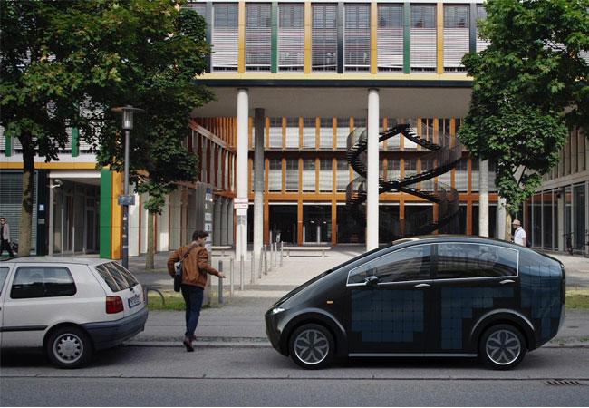"""Pressebild: Sono Motors stellt erstmals das Solarauto """"Sion"""" in München vor"""