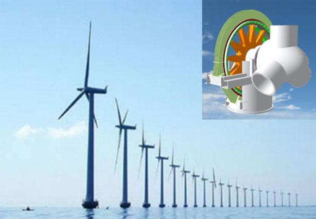 In Offshore-Windanlagen sollen supraleitende Generatoren künftig höhere Leistung bei niedrigeren Kosten ermöglichen. (Foto: Tecnalia)
