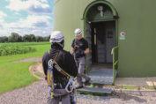 Pressebild: Quelle wpd windmanager Außendienst im Einsatz