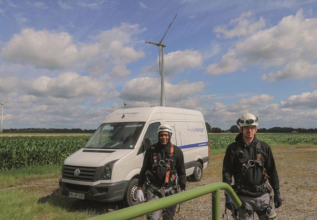 Pressebild: Quelle wpd windmanager Übernahme der Betreiberverantwortung