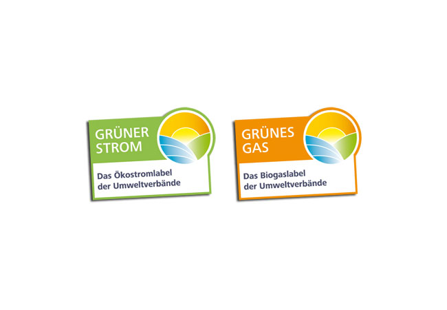 Die Gütesiegel Grüner Strom und Grünes Gas / © 2017 Grüner Strom Label e.V.