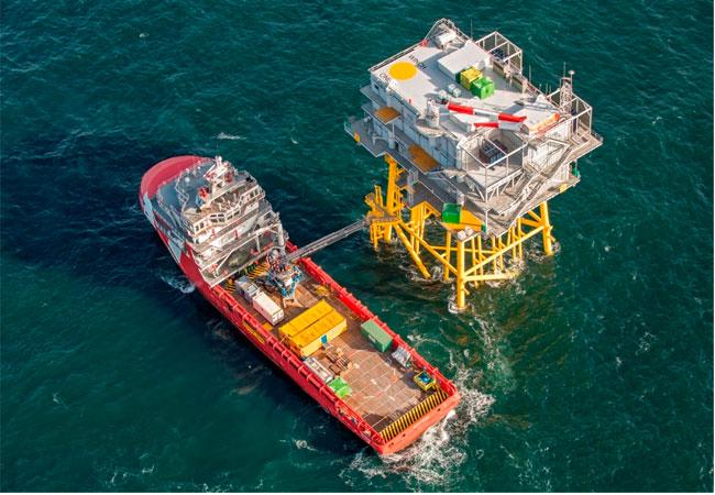 Pressebild: Erstes Projekt für neu gegründete Rhenus Offshore Logistics Niederlande