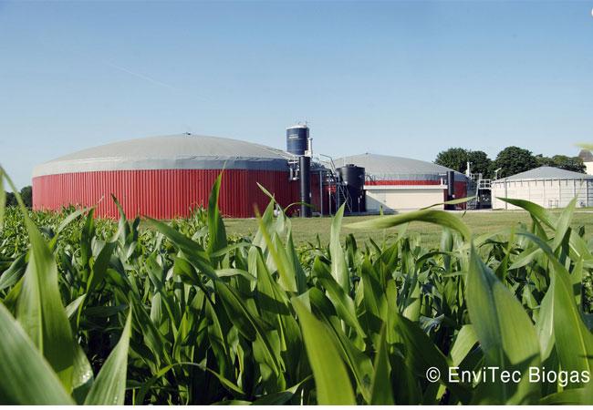 EnviTec Biogasanlage / Pressebild
