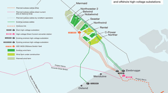 DEME secures submarine cable installation contract for Elia Modular Offshore Grid / Pressebild: DEME