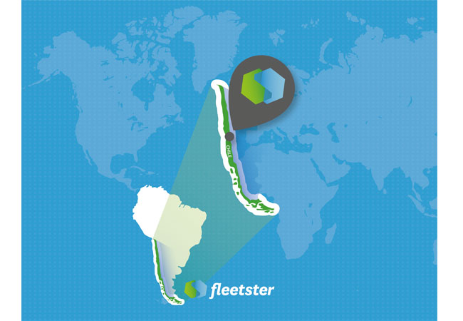 Pressebild: fleetster expandiert nach Chile
