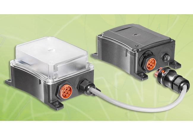 Pressebild: Mit der podis® LED EL bietet Wieland Electric eine Notleuchte mit Einzelbatterie speziell für den anspruchsvollen Einsatz in Windenergieanlagen.
