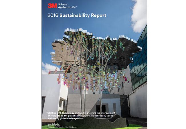 3M setzt sich selbst ehrgeizige Nachhaltigkeitsziele / Nachhaltigkeitsbericht